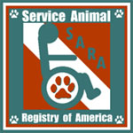SARA - Service Dog Animal Registry of America
