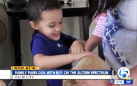 Palm City service dog to assist South Carolina 4 year old on the Autism spectrum